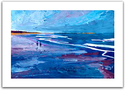 Art Wall 'California Seascape Near Big Sur' Unwrapped Canvas Artwork by Markus Bleichner, 28 by 40-Inch