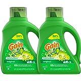 Gain Liquid Laundry Detergent, Original Scent, 2 count, 75 f…