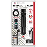 Maglite XL50 LED 3-Cell AAA Flashlight Tactical Pack, Black