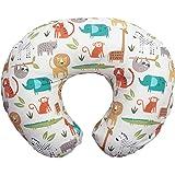 Boppy 原创哺乳枕,中性丛林颜色,棉混纺面料,全身时尚
