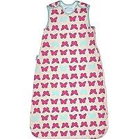 英国 Grobag SimplyGro(升级版) 婴儿睡袋 红蓝蝴蝶 1.0托格 (6-18个月) AAE4280
