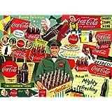 Buffalo Games - 可口可乐 - 50 年代特殊送货 - 1000 块装儿童*拼图