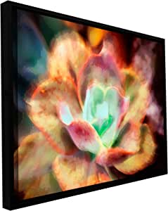 ArtWall Dean Uhlinger 'Anapo Dawn' Floater Framed Gallery-Wrapped Canvas Artwork, 14 by 18-Inch, Holds 12.5 by 16.5-Inch Image