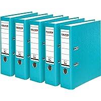 Falken PP 材质彩色塑料文件夹 3 件装 5 件装 Rückenbreite 80 mm 5er Pack br…