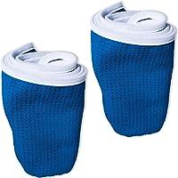 健身锻炼健身房毛巾(2件装)适用于锻炼,体育和练习 – 软,轻便,吸水,快干, odor-free , machine…