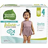 Seventh Generation *七世代 婴儿尿布 敏感保护 4 号