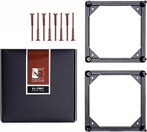 Noctua NA-SFMA1 140 至 120 毫米风扇安装适配器,用于水冷却散热器,黑色