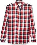 亚马逊品牌 - GoodThreads男式修身长袖双面衬衫长袖系扣衬衫