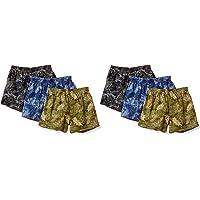 (赛诗丽) cecile Print Trunks(不同颜色6件装、前门襟)(3×2包装) KT-381