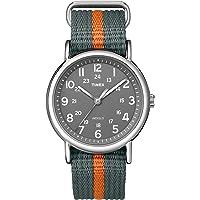 Timex 天美时 中性T2N649Weekender38毫米尼龙滑动式表带手表