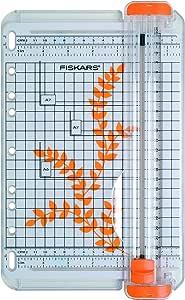 Fiskars 22 厘米 A5 便携式纸张修剪机 A5 22 cm 多色