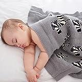 Nuby UK 奢华针织婴儿毯