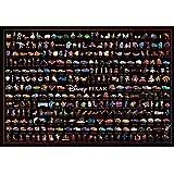 1000片 拼图 迪士尼/赛车 角色收藏(51x73.5cm)