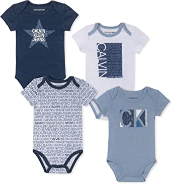 Calvin Klein 卡尔文·克莱恩 男童 连体衣 4件装