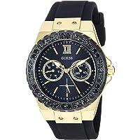 GUESS U1053L7U1053L7 analog 硅胶 黑色 U1053L7 watches