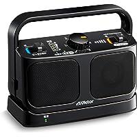 Victor JVC SP-A900-B 电视用无线音箱系统 生活防水规格 可连续使用20小时 mimiru系列 黑色