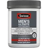 SWISSE Ultivite 男士优质日常复合维生素| 富含抗氧化剂和矿物质| 维生素A,维生素C,维生素D,生物素…