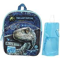 Jurassic World 背包组合套装 - Jurassic World 男孩 3 件套背包 - 背包、水瓶和卡宾夕法尼亚州 Jurassic Mini One_Size