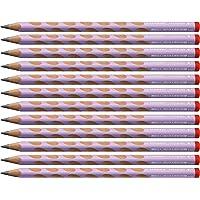 STABILO 思笔乐 EASYgraph 符合人体工程学的三角形铅笔 适合右手使用 pastelllila