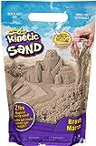 Kinetic Sand The Original 可塑感官游戏沙,棕色,2磅/约907.18克
