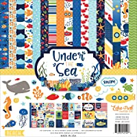 """Echo Park Collection Kit 12""""X12""""-Under The Sea"""