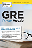 GRE Power Vocab (Graduate School Test Preparation) (English…