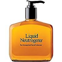 Neutrogena 露得清 无香精温和洁面乳,含甘油,低变应原,无油,温和,8液体盎司(约236.56 毫升)