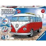 Ravensburger VW T1 野营车,162 片 3D 拼图