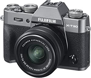 Fujifilm X-T30 with XC15-45 mm lens - Charcoal Silver