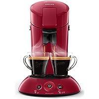 PHILIPS Senseo New 原装咖啡 Pad 机器, Crema Plus, 咖啡厚度可选, 黑色 Dunke…