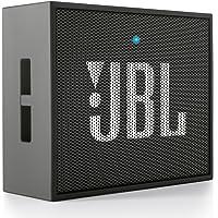 JBL GO 音乐金砖 便携迷你蓝牙小音箱/音响 低音炮 黑色(美国品牌 香港直邮)