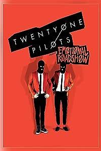 Twenty One Pilots 音乐乐队情感之路秀。 海报印刷 Mutlicolor 12 x 18 inch 14158183