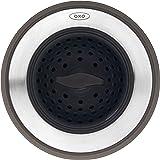 OXO 13259500 Good Grips 2 合 1 水槽滤水器,均码,黑色