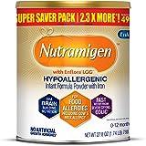 MeadJohnson 美赞臣 Enfamil 铂睿 Nutramigen 低致敏性婴幼儿奶粉,无乳糖,27.8盎司(7…