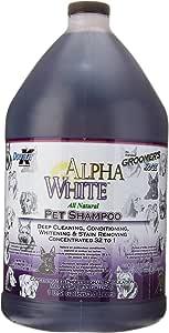 Groomers Edge Alpha White 洗发水,1加仑,3.8升