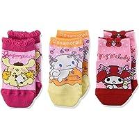 Sanrio 三丽鸥 袜子 3双装 4560094 女孩