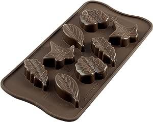 Silikomart 硅胶易巧克力模,多种 棕色 22.110.77.0065