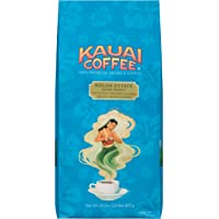 Kauai Whole Bean Coffee, Koloa Estate Dark Roast ?? 100% Premium Arabica Whole Bean Coffee from Hawaii??s Largest Grower - Bold, Rich Flavor with Nutty Notes and Sweet Chocolate Overtones (32 Ounces)