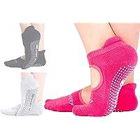 带抓地力的瑜伽袜,女士滚筒袜,普拉提斯 Piyo Gym 芭蕾*孕妇用