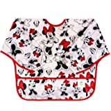 bumkins Disney 婴儿防水长袖围兜 Minnie Classic 6-24 个月