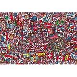 1000块 拼图 Wally在哪里?盛世派对 微型方块(26×38厘米)