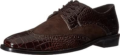 Stacy Adams 男士Arturo 皮革鞋底翼纹牛津鞋