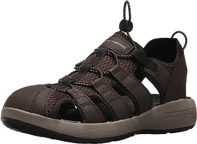 Skechers SPORT 男式男式 melbo journeyman 2渔夫凉鞋