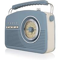 Akai Portable Band Retro FM 收音机A60010VB AM/FM 14 W