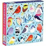 Mudpuppy 500 片,家庭拼图 Songbirds 多种颜色