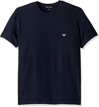 Emporio Armani 安普里奥·阿玛尼男式耐力圆领 T 恤