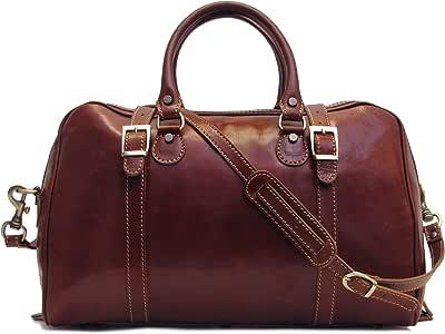 Floto Luggage Trastevere 行李包 旅行包 Vecchio brown 均码