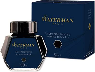 Waterman 瓶装墨水 50毫升 黑色