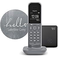 Gigaset CL390 无绳设计电话 无电话答录机 - DECT 电话带免提功能,大型图形显示屏 1 CL390 D…