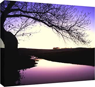 ArtWall 0uhl139a1418w Dean Uhlinger 'Squaw Valley Twilight' Gallery-Wrapped Canvas Artwork, 14 by 18-Inch